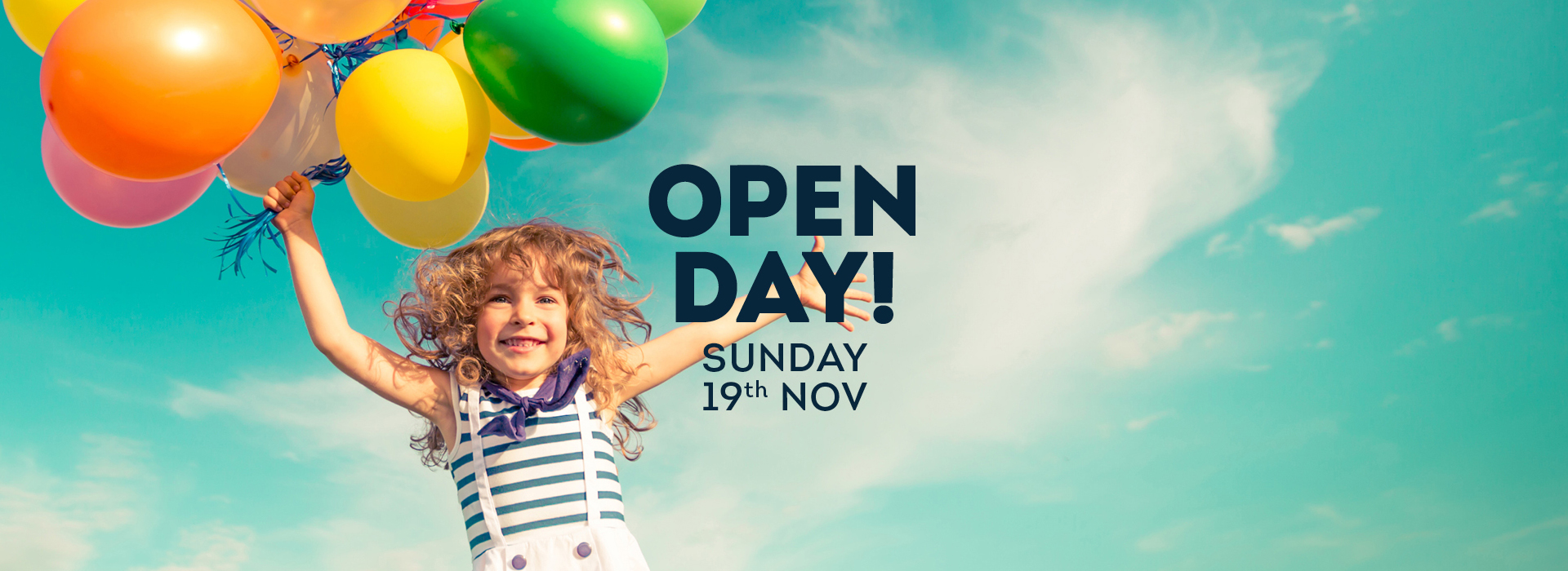 Open Day Gladstone Park – Sunday 19th November 2017
