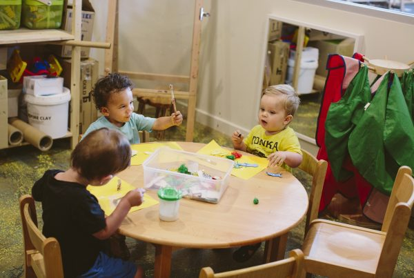 Socialisation skills child care