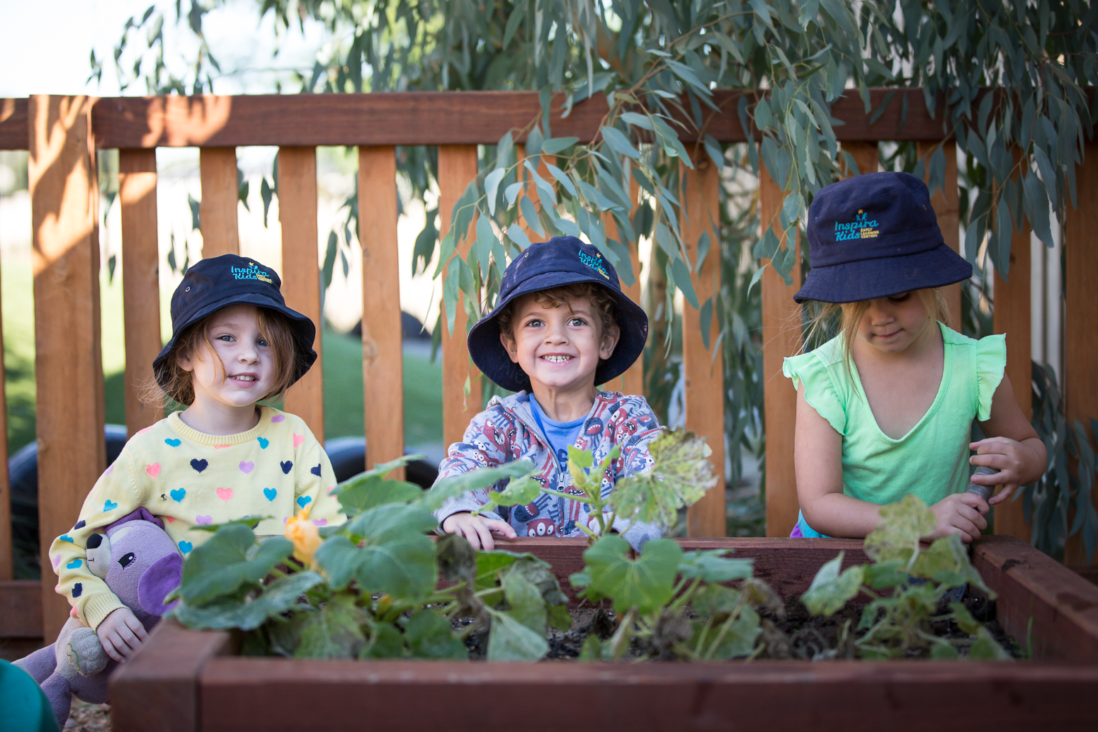 Inspira Kids Garden. Inspire Grow Learn