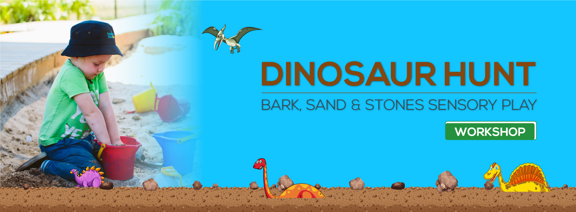 Inspira Kids Dinosaur Hunt Workshop
