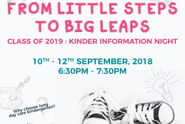 Inspira Kids 2019 Kinder Information Night