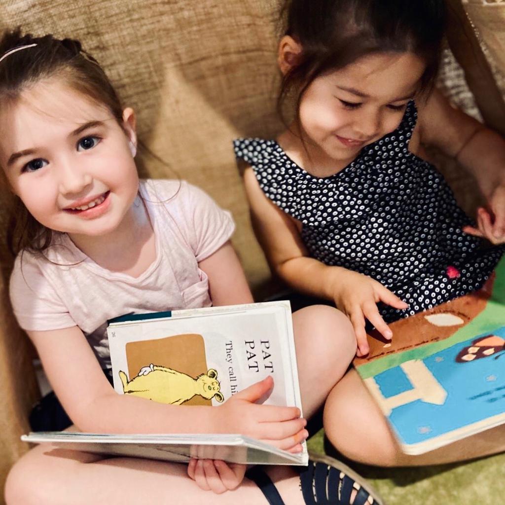 Reading session at Inspira kids